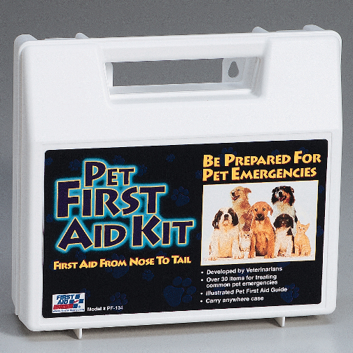 Wounds First Aid. Pet First Aid Kits - Kits made
